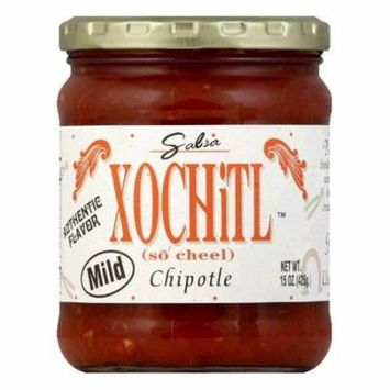 Xochitl Salsa Chipotle Mild, 15 OZ (Pack of 6)