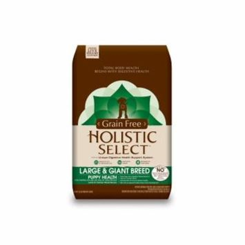 Holistic Select Natural Grain Free Dry Dog Food, Large & Giant Breed Puppy Recipe, 12-Pound Bag