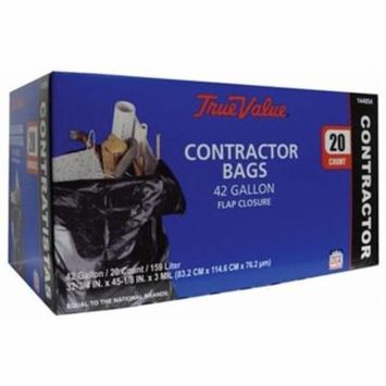 Berry Global 1221764 20-Count 42-Gallon Contractors Trash Bags
