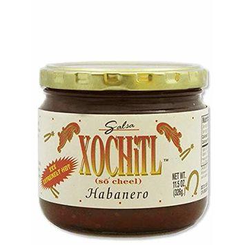 Xochitl Habanero Salsa 11.5 oz Glass Jar - Single Pack [Habanero Salsa]