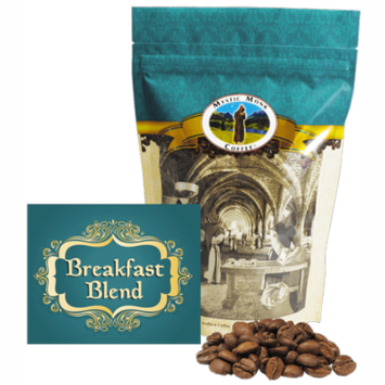 Mystic Monk Coffee - Breafast Blend - Mild Roast Whole Bean Coffee