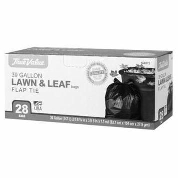 Berry Global 1221755 Lawn & Leaf Trash Bags, 28-Ct., 39-Gals.