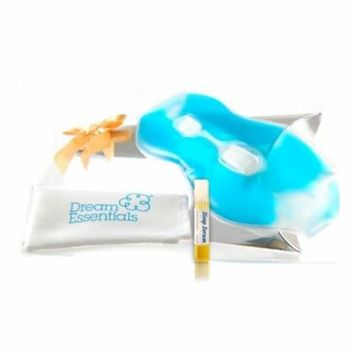 Dream Essentials Soothing Gel Eye Mask, Spa Blue - Gift Set