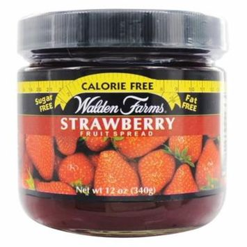 Walden Farms Calorie Free Strawberry Fruit Spread 12 Oz(pack of 12)