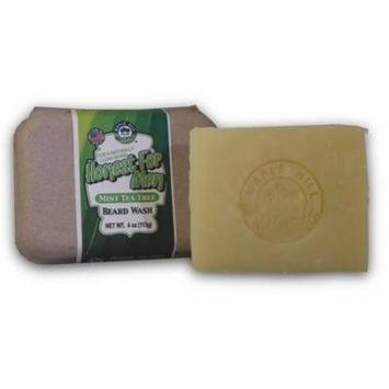 Maple Hill Naturals: Honest For Men Mint Tea Tree Oil Beard Wash