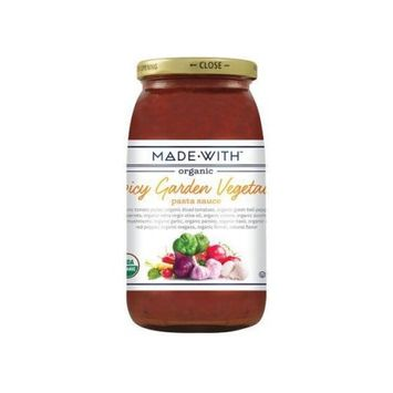 Made With Organic Pasta Sauce, Spicy Garden Vegetable, 25 Oz