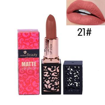 Matte Lipstick ,Showking New Lipstick Cosmetics Women Sexy Lips Matte Lasting Lip Gloss Party
