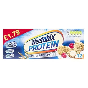 Weetabix Protein - 12 Pack - (Pack of 3)