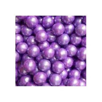 Gumballs in Bulk - Purple Gumballs for Candy Buffet - Mini Shimmer Gumballs 1/2 Inch, Bulk Candy 2 LB [Purple]