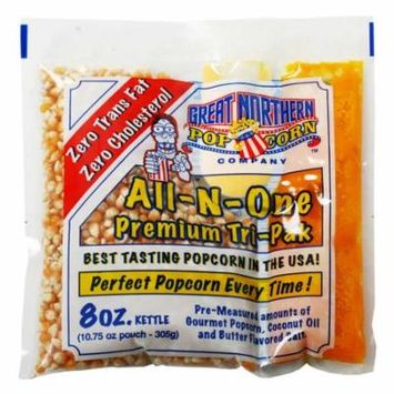 Great Northern Un-Popped Popcorn 8 Oz, 40-Pack