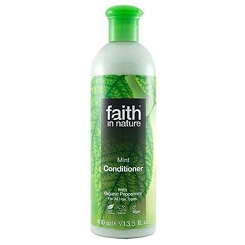 Faith in Nature Mint Conditioner 400ml (PACK OF 4)
