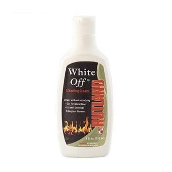 Fireplace Maintenance Rutland White Off Glass Cleaner 8 OZ FCP565 -