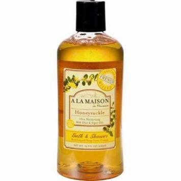 A La Maison HG0843391 16.9 oz Shower Gel, Honeysuckle