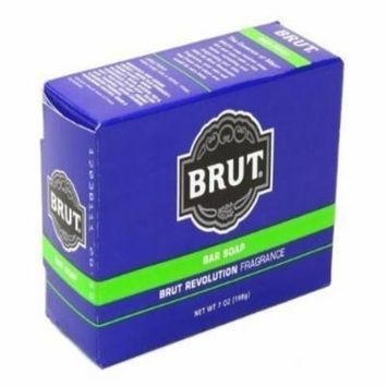 Brut Bar Soap, Brut Revolutionary Fragrance, 7 Oz (Pack of 6)
