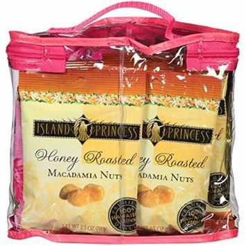 Island Princess Gift Totes with Macadamia Nuts and Popcorn (Mac Nut Variety Pack)