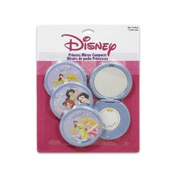 Pack of 4 Disney Princess Mirror Compacts Make up Mirrors