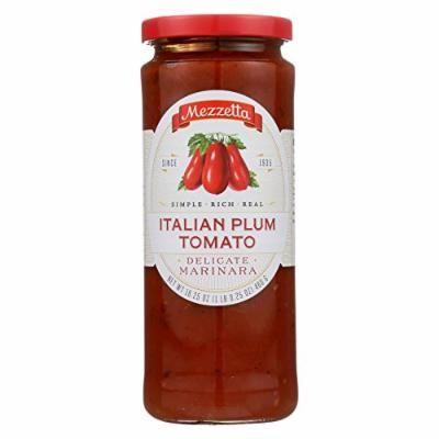 Mezzetta Italian Plum Tomato Marinara Pasta Sauce - Case of 6 - 16.25 oz.