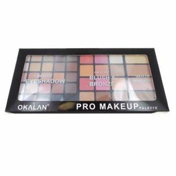 (3 Pack) OKALAN Pro Makeup Palette