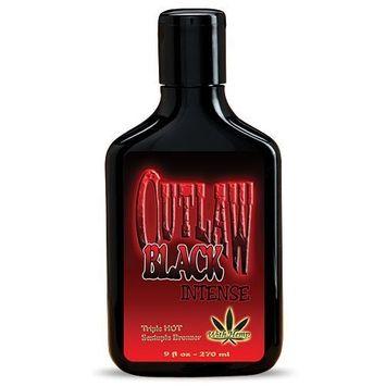 Outlaw Black Bronzer Triple Hot Tingle Tanning Lotion 9oz