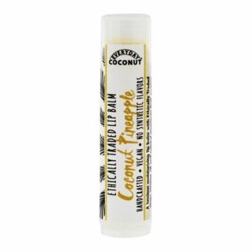 Alaffia - Everyday Coconut Ethically Traded Lip Balm Coconut Pineapple - 0.15 oz. (pack of 6)
