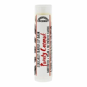 Alaffia - Everyday Coconut Ethically Traded Lip Balm Purely Coconut - 0.15 oz. (pack of 4)