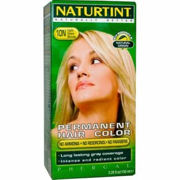 Naturtint, Permanent Hair Color, 10N Light Dawn Blonde, 5.28 fl oz (pack of 3)