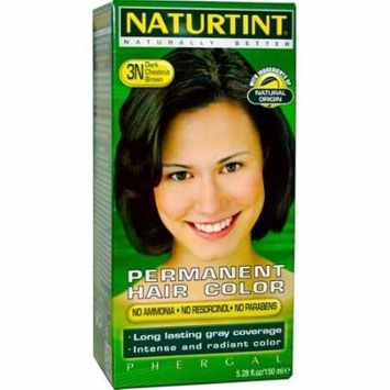 Naturtint, Permanent Hair Color, 3N Dark Chestnut Brown, 5.28 fl oz (pack of 3)