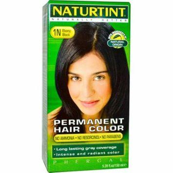 Naturtint, Permanent Hair Color, 1N Ebony Black, 5.28 fl oz (pack of 6)