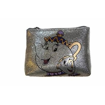 Beauty and the Beast Mrs Potts and Chip Cosmetic Case by Danielle Nicole