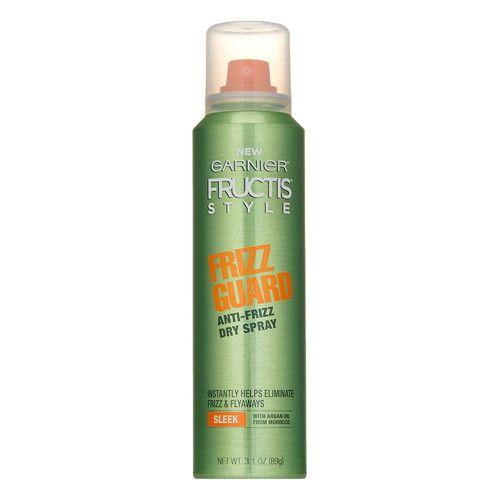 Garnier Fructis Style Frizz Guard Anti-Frizz Dry Spray, 3.1 Oz, 6 Pack