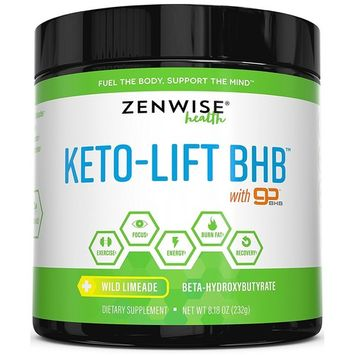Keto BHB Salts Supplement with goBHB - Beta Hydroxybutyrate Ketones to Achieve Perfect Ketosis - Sodium, Calcium & Magnesium for Workouts & Muscle Support - Promotes Weight Loss + Energy & Focus [Wild Limeade]