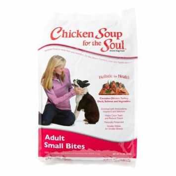Chicken Soup For The Soul Adult Small Bites Recipe Dry Dog Food, 15 lb