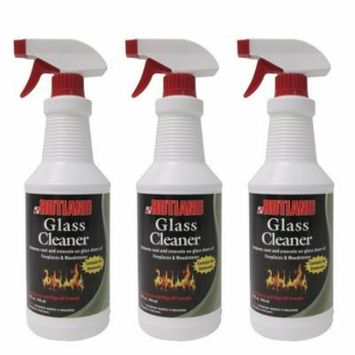 Rutland Fireplace Glass and Hearth Cleaner - 3 Pack
