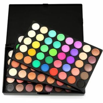 DZT1968 120 Colors Cosmetic Powder Eyeshadow Palette Makeup Set Matt Available