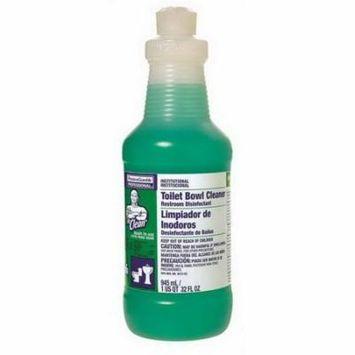 Procter & Gamble Mr. Clean Restroom Disinfectant Clear, 32 oz. Squeeze Bottle with Spout, Lemon, Liquid | 8/Case