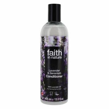 Conditioner with Lavender Oil Lavender & Geranium - 13.5 fl. oz. by Faith in Nature (pack of 1)