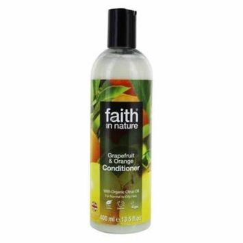 Conditioner with Organic Citrus Oil Grapefruit & Orange - 13.5 fl. oz. by Faith in Nature (pack of 12)
