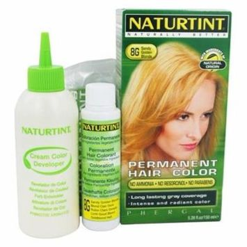 Permanent Hair Colorant 8G Sandy Golden Blonde - 4.5 fl. oz. by Naturtint (pack of 1)