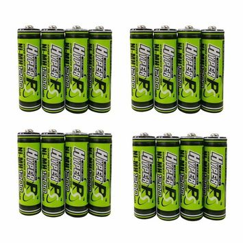 (8-Pack) HyperPS 1.2V AA 1200mAh Ni-MH Rechargeable Battery for High-Drain Devices, Quick Charge: Health & Personal Care