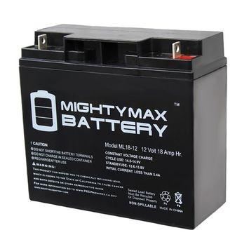12V 18AH SLA Battery for Black Decker CMM1200 Mower [package_quantity: package_quantity-1]
