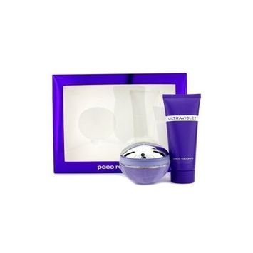 Paco Rabanne - Ultraviolet Coffret: Eau De Parfum Spray 80ml/2.7oz + Body Lotion 100ml/3.3oz 2pcs