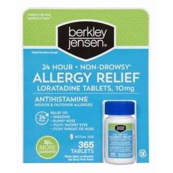 Berkley Jensen Non-Drowsy Allergy Relief, 365 Tablets