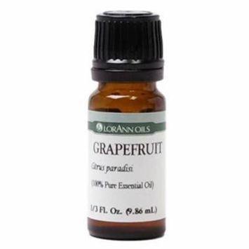 LorAnn Oils Grapefruit Pure Essential Oil, 0.33