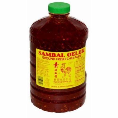 Huy Fong HFS01G Ground Fresh Chili Sambal Oelek 3-1 Gallon