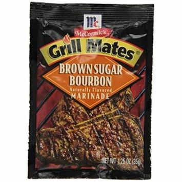 McCormick Grill Mate BROWN SUGAR BOURBON Marinade 1.25oz (5 Packets)