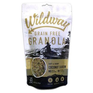 Wildway Coconut Cashew Grain-free Granola, 8oz (Certified gluten-free, Paleo, Vegan, Non-GMO)