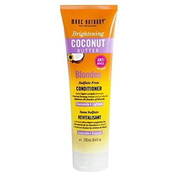Marc Anthony Coconut Butter Conditioner Blondes 8.4 Ounce (250ml) (2 Pack)