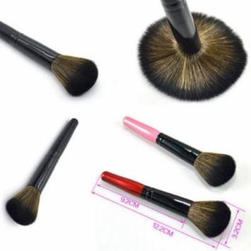 Wood Handle Foundation Face Blush Powder Contour Makeup Brush Cosmetic Tool