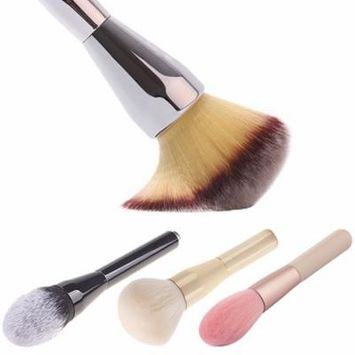 Women's Pro Face Facial Powder Blush Brush Beauty Cosmetic Tool Makeup Brush