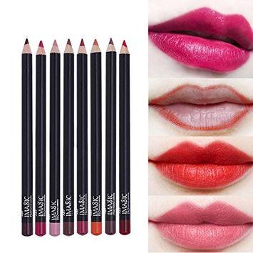 IMAGIC 12 Colors Waterproof Lip Liner Pencil Brand New Professional Long Lasting Moisturizing Lipliner Lips Makeup Tools For Women